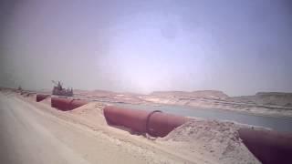 شاهد : ضح الكراكات الرمال المشبعة بالماء فى مواسير الطرد بالقطاع الجنوبي مايو2015