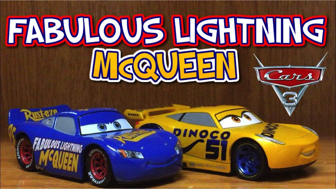 Cars 3 Fabulous Lightning Mcqueen Diecast Toy Review 95 Dinoco