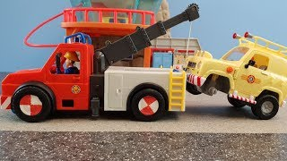 Fireman Sam Toys Episode 24 Fire Workshop Boat House Toy 2019 Phoenix Jupiter Venus Fire Station