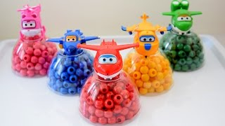 Super Wings Toys for Learning Colors