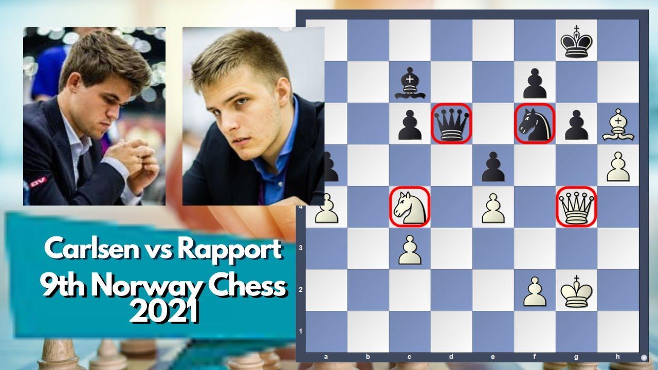 Carlsen's Hattrick against Rapport