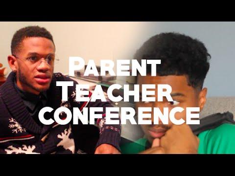 Teacher Parent Conference W/ @VictorPopeJr