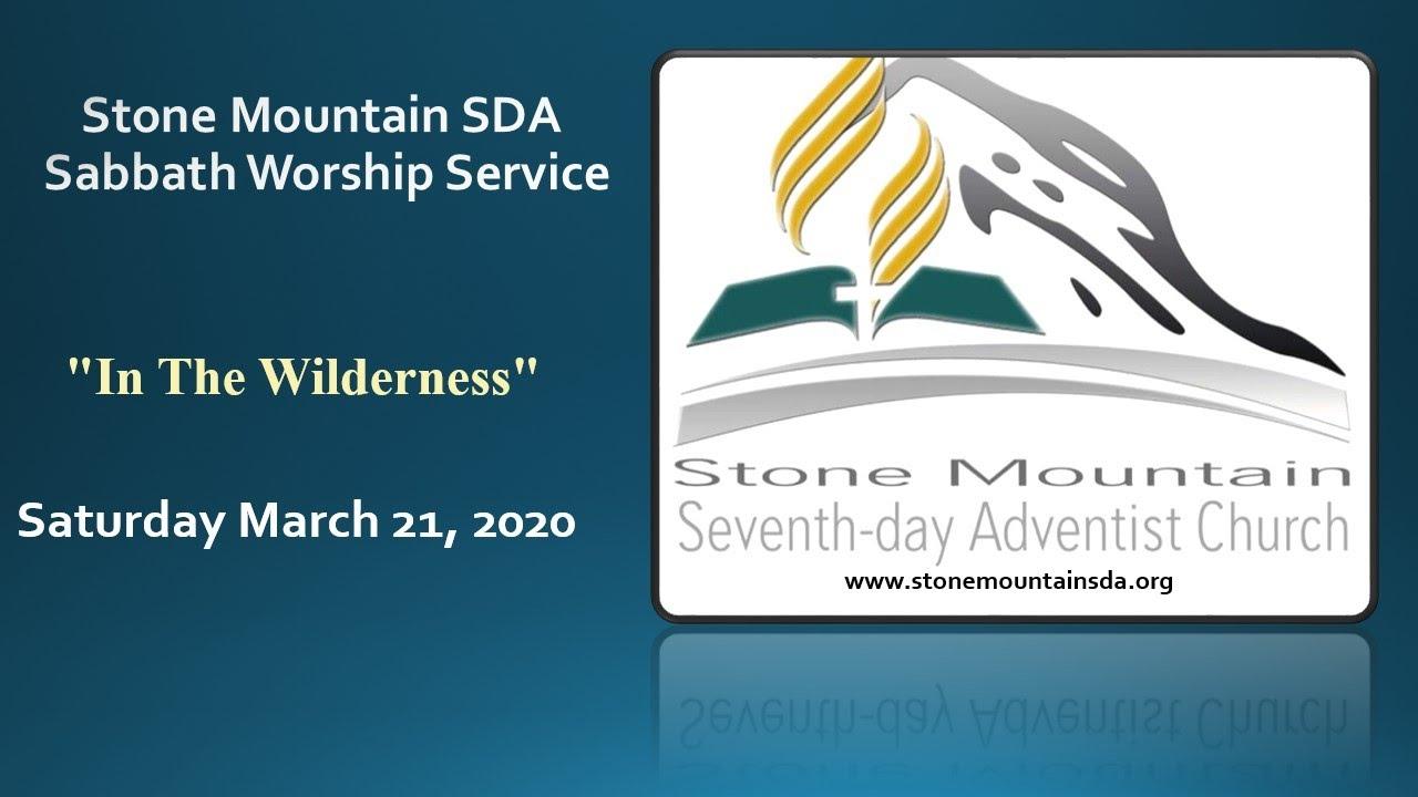 Mar 21, 2020 Sabbath Service