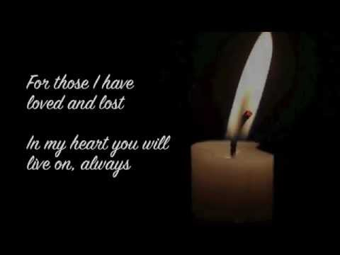 Angela Little - I Will Not Forget You (With Lyrics)