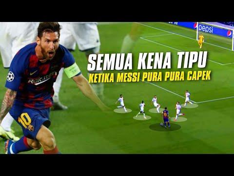 GOCEKAN PENSIUN ❤️ Lihat Aksi Edan Lionel Messi Ketika Ia Dianggap Sudah Tua \u0026 Lemah Di Mata Lawan
