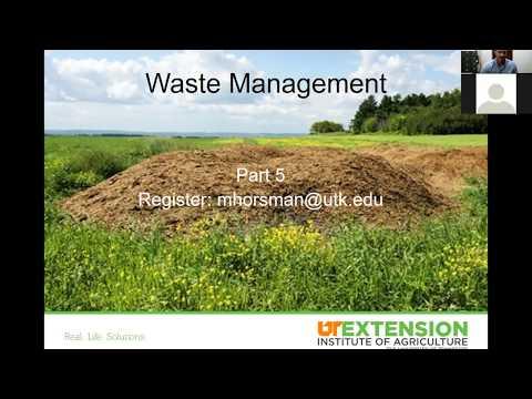 Equine Pasture Management Series: Manure Management