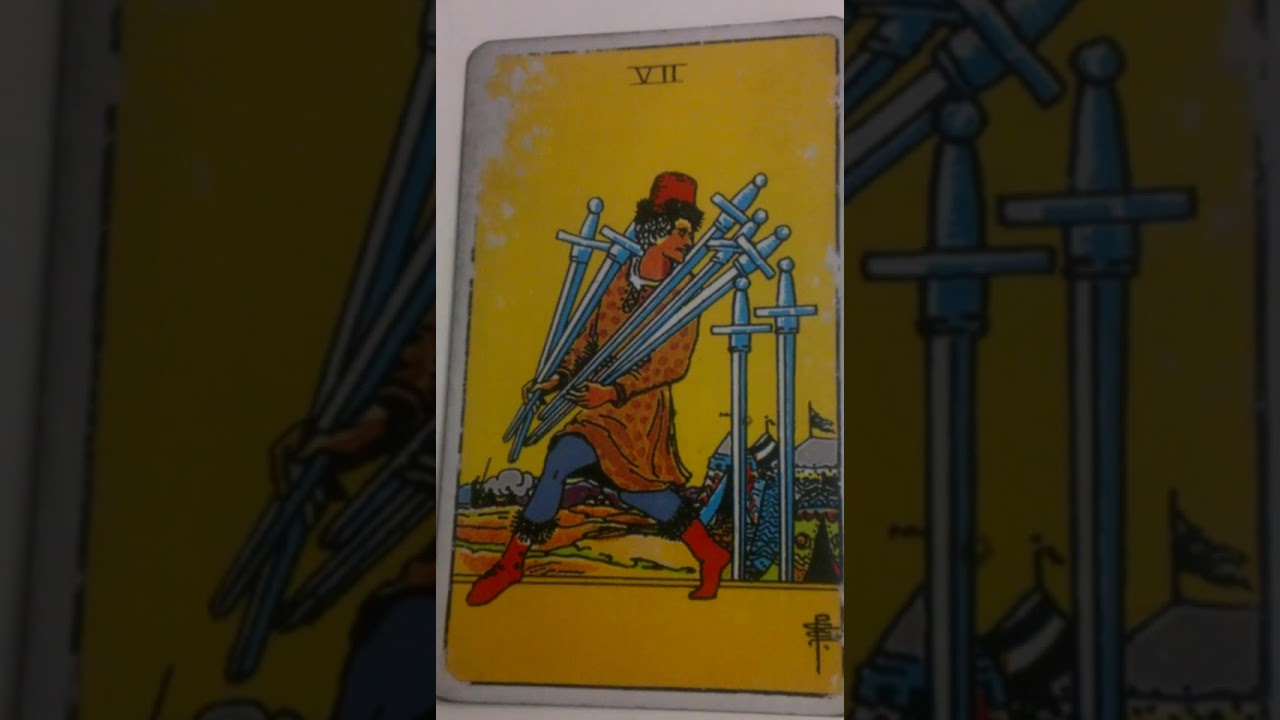 The Seven Of Swords As Feelings In A Love Reading