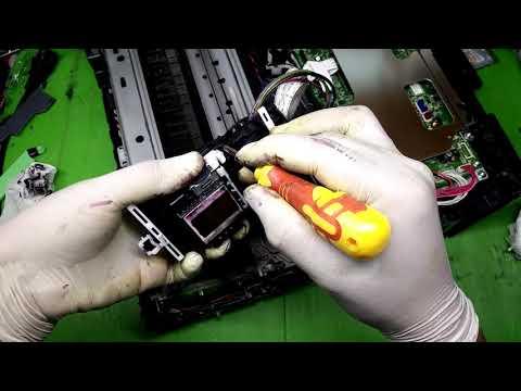 Brother MFC J220 printhead replace LK7133001 เปลี่ยนหัวพิมพ์