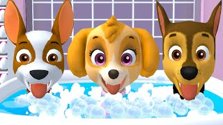 PAW Patrol: A Day in Adventure Bay - Marshall, Skye Mighty Pups in Ultimate Rescue Mission