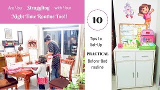 10 Night Time Routine Habits to Follow / Kitchen Clean-Up & Set-Up Practical Before-Bed Routine