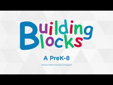 An Overview of Building Blocks Adaptive Math Practice