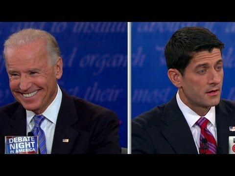 Raw video: Biden, Ryan get heated over Bush era tax cuts