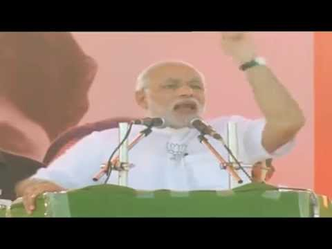 Shri Narendra Modi addresses rally in Beed, Maharashtra: 04.10.2014