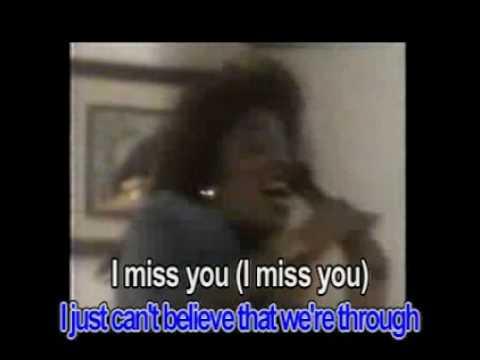 I miss you - Klymaxx (Karaoke)