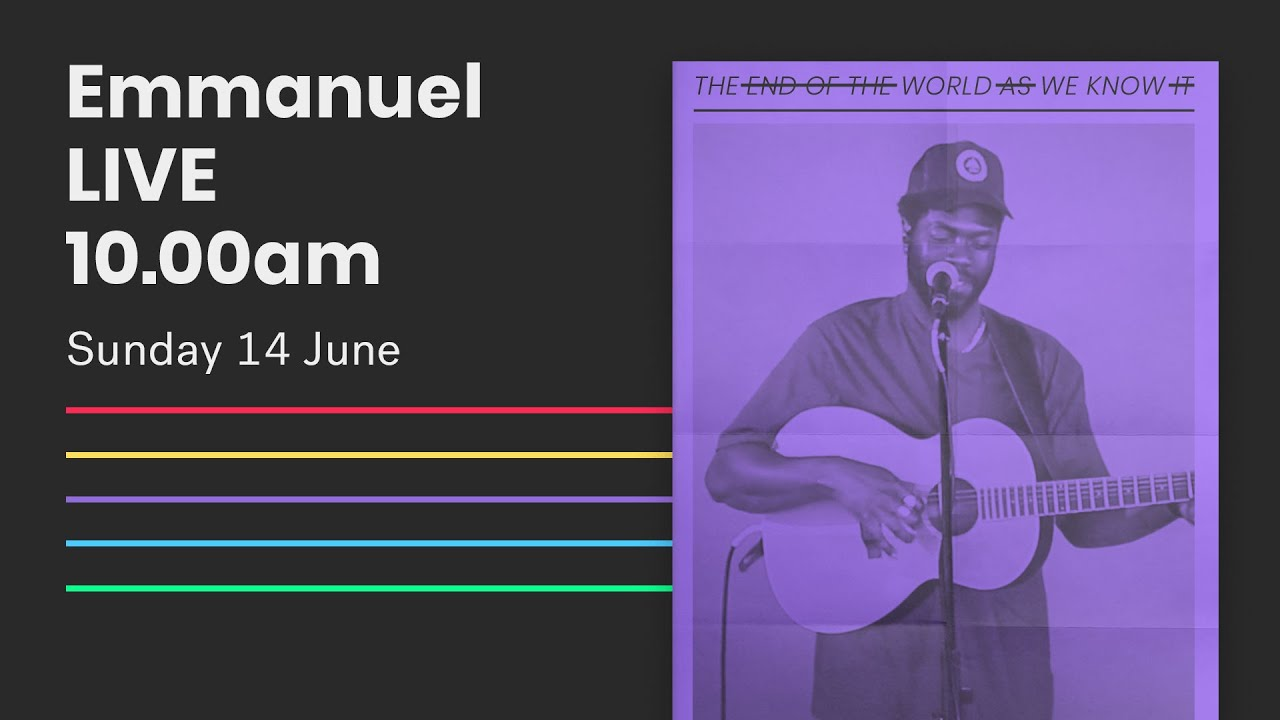 Emmanuel Live Online Service // 10am Sun 14 June 2020 Cover Image