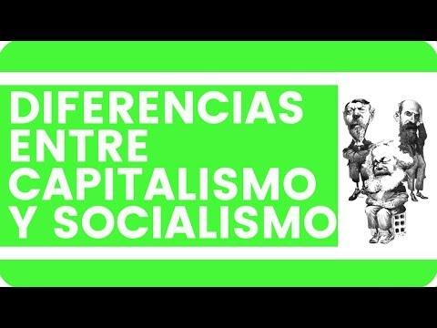 ¿Cuál es la diferencia entre capitalismo y socialismo?