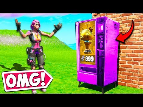 *new* Vending Machines Are Back!? – Fortnite Funny Fails And Wtf Moments! #720