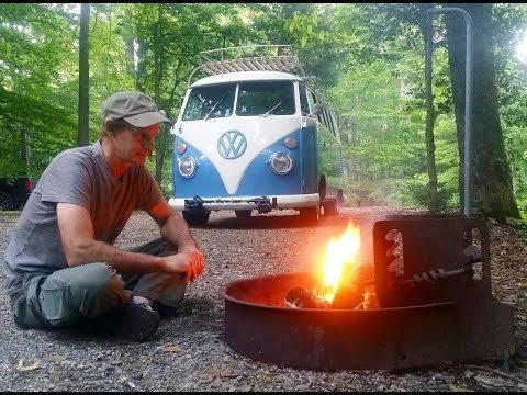 Pocahontas State Park VA. ( Road Trip 62' VW Bus )