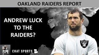 Raiders Rumors: Andrew Luck 2020, Josh Jacobs Injury, Signed Rod Smith, Jon Gruden Wanted Josh Allen
