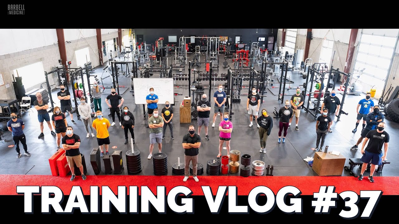 Training VLOG #37: Dr. Baraki Deadlifts 720, How to Row, and Strongman Training