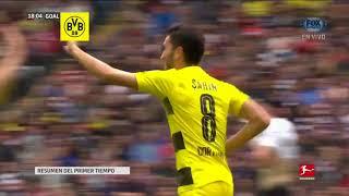 GOL: Frankfurt 0-1 Dortmund