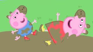 Peppa Pig Italiano - Pozze fangose con Peppa - Cartoni Animati - Peppa Pig