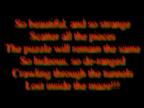 Mudvayne Beautiful and Strange Lyrics