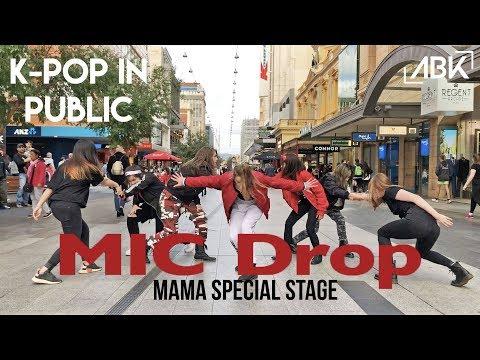 [K-POP IN PUBLIC] 'MAMA Ver.' BTS (방탄소년단) - Mic Drop (Steve Aoki Remix) Cover | ABK From Australia