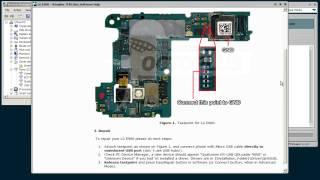 LG E960 Repair via USB with Octoplus JTAG