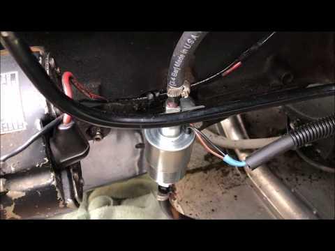 Mercruiser Summit Racing Fuel pump Upgrade