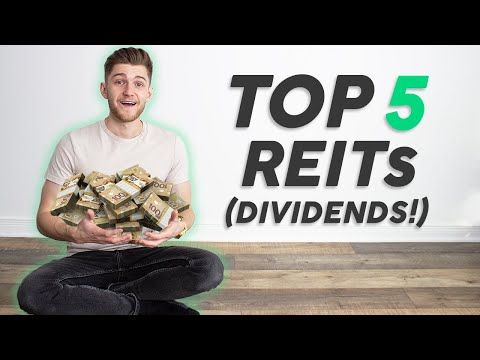Top 5 REITs That Pay You Money (Dividend Stocks)