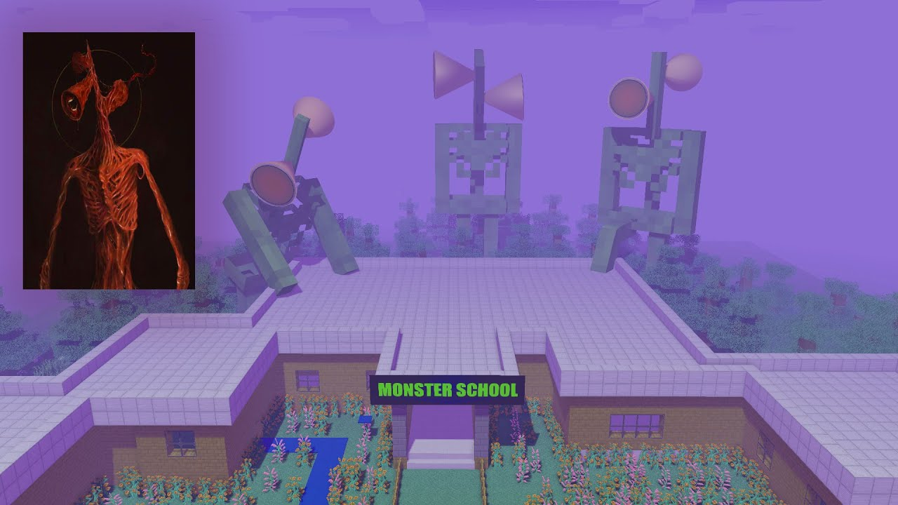 Monster School : BREWING ANGRY SIREN HEAD - Minecraft Animation