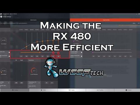 Radeon RX 480 Improve Efficiency Guide