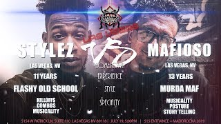 Gambar cover KBL Presents  MAFIOSO vs STYLEZ