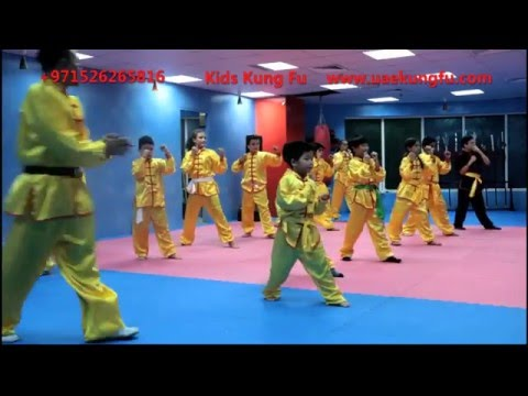 Kids Kung Fu in DUBAI, the best Kung Fu school in DUBAI UAE