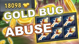 Dota 2 NEW GOLD BUG ABUSE - 7.10 update!