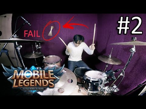 Mobile Legends - Drum Cover by IXORA (FAIL)