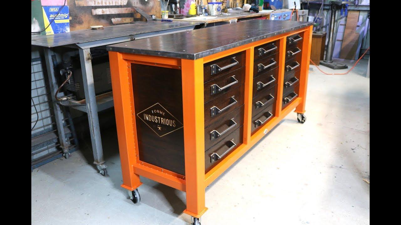 Make A 15 Drawer Workshop Cabinet Forme Industrious
