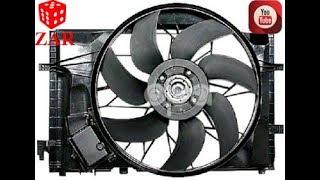 Inlocuire electroventilator C Class W203/ W203 Engine Fan Replacement