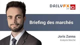 Briefing des marchés du 21 février 2020 - Indices - Forex - Brent - Gold - Bitcoin