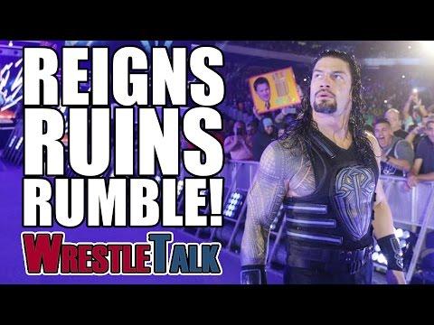 Roman Reigns Ruins Royal Rumble! John Cena Ties Record! | WWE Royal Rumble 2017 Review