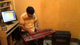 Dariye Acho Tumi Amar Ganer Opare On Electricguitar By Pramit Das.avi