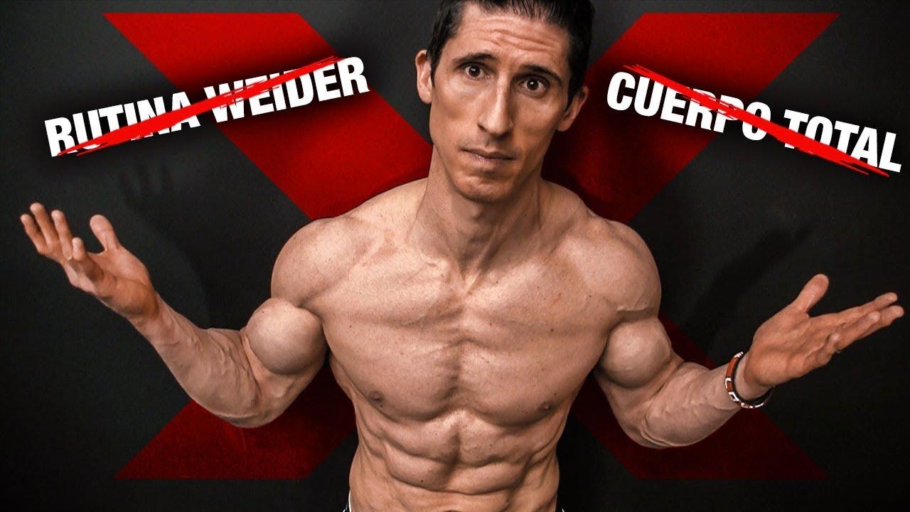 trabajar grupos musculares por dia