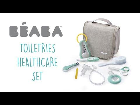 Beaba Несесер тоалетен 9 части Зелен #L01fbaS8dLg