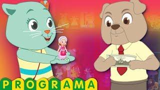 pegadinha dos gatinhos espertos vs cachorro ardiloso | show de comédia | ChuChu TV Cutians