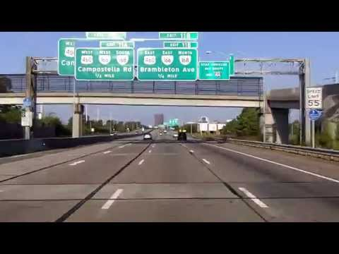 Interstate 264: Norfolk into Portsmouth, VA