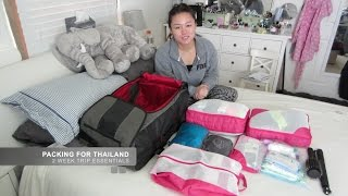 What I Packed For Thailand - Women's Edition
