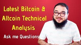 Latest Bitcoin & Altcoin Technical Analysis.