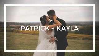 Patrick + Kayla | A Wedding Film | Trump Winery