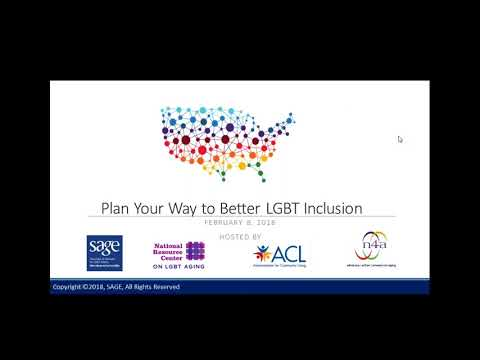 Plan Your Way to Better Inclusion of LGBT Elders